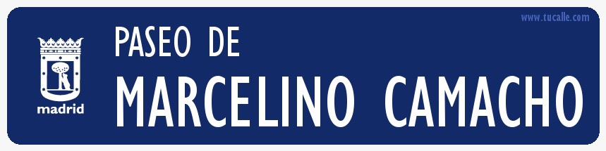 <p>Calles renombradas en Madrid</p>